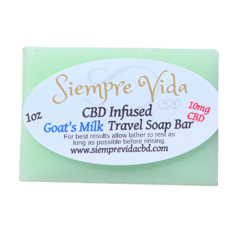 1oz CBD Soap bar Egyptian musk